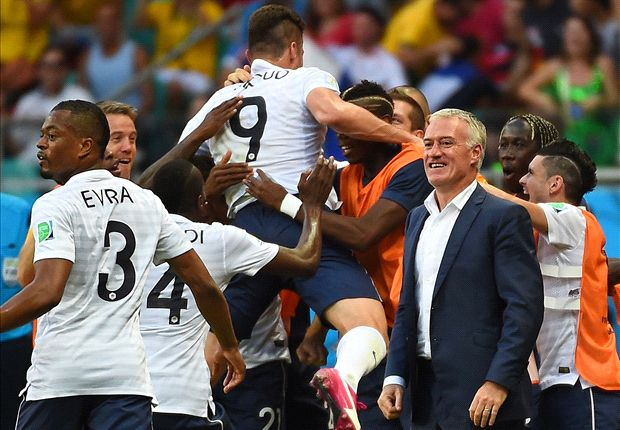 'It's all going well' - Deschamps celebrates France's World Cup progress