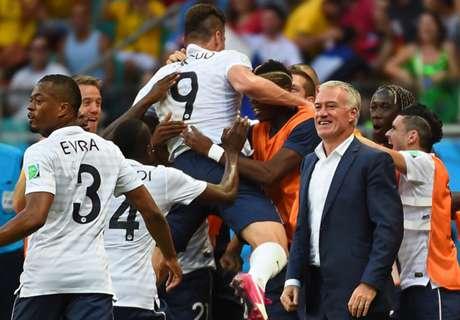 Raul praises 'fearsome' France