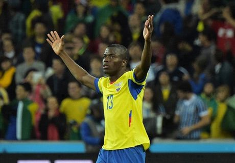 Ecuador hero Valencia in dreamland