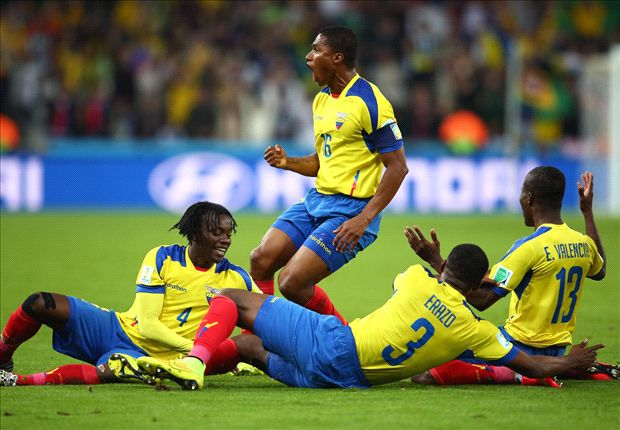 Honduras 1-2 Ecuador: Valencia at the double in La Tri comeback
