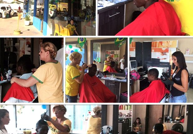 Eagles get haircut before Bosnia match
