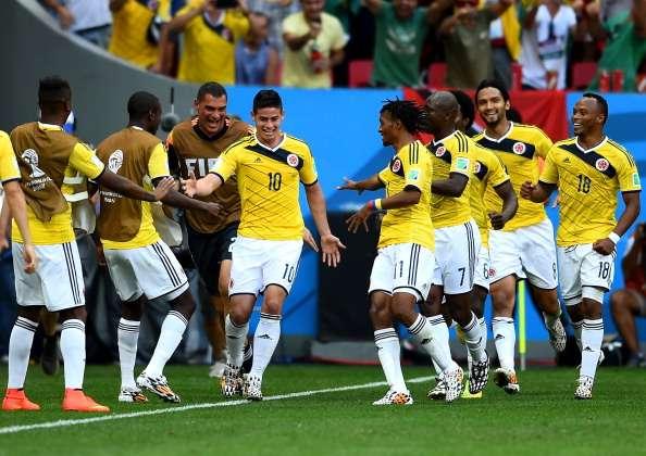 Colombia va por la punta del Grupo C ante Japón