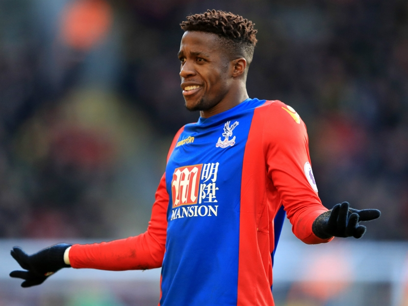 RUMOURS: Palace to reject Tottenham Zaha approach