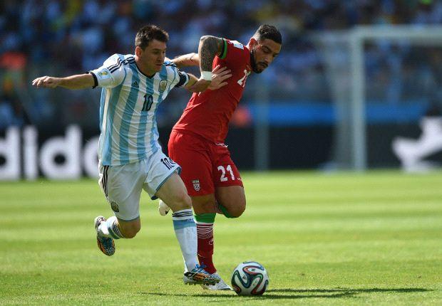 Messi salvó sobre la hora a Argentina ante Irán