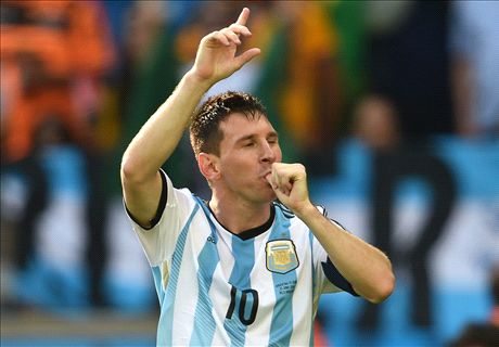 Messi frustrated by Argentina display
