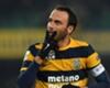 Pazzini esulta dopo il goal al Cesena