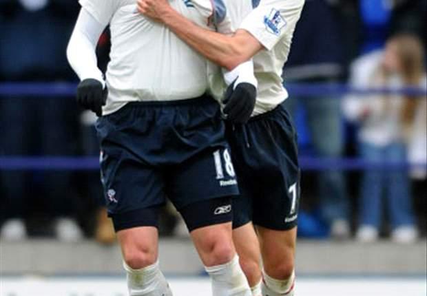 Bolton Recover To Beat Tottenham