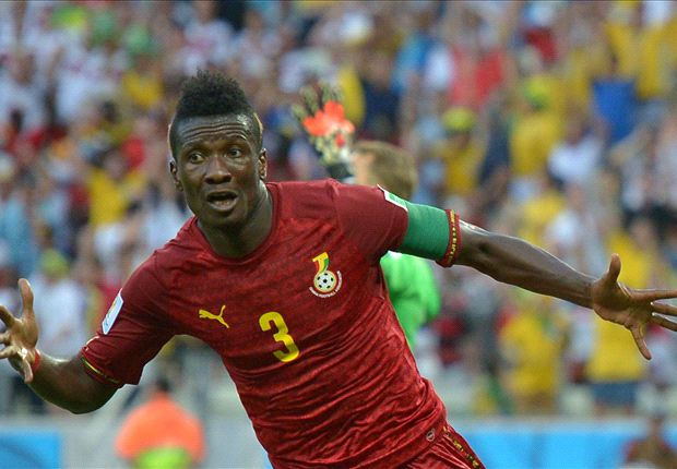 Ghana captain Gyan welcomes baby girl