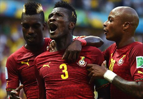 Gyan: Ghana were tactically perfect
