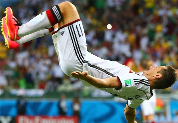 Germany 2-2 Ghana: Klose moves level with Ronaldo to salvage late draw