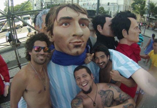 Lionel Messi salva una apuesta millonaria