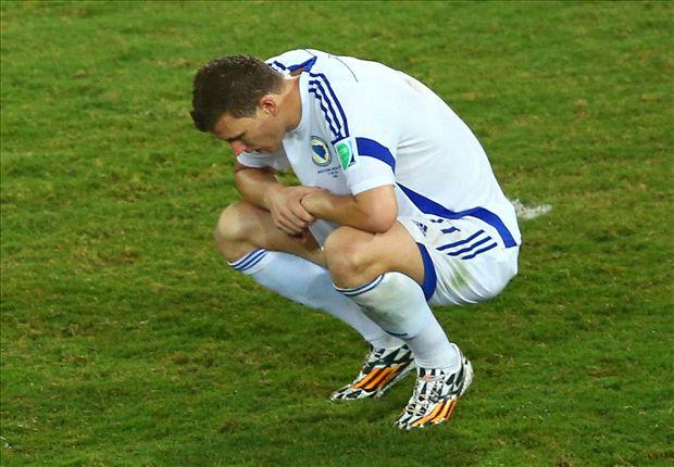 Dzeko: I'll never forget disallowed goal against Nigeria