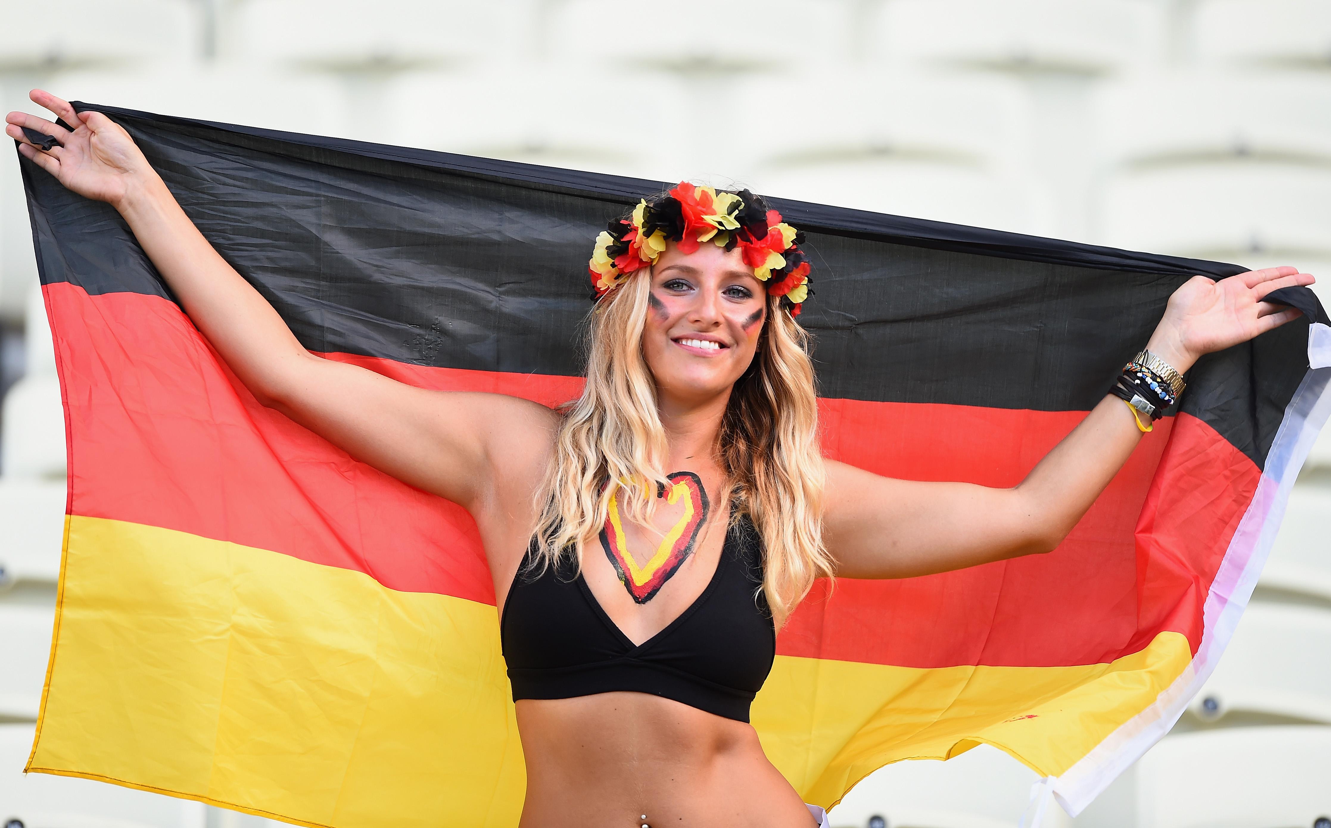 les supportrices de la coupe du monde 2014