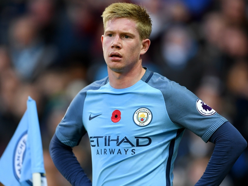 'It's banter' - Man City forward De Bruyne laughs off criticism