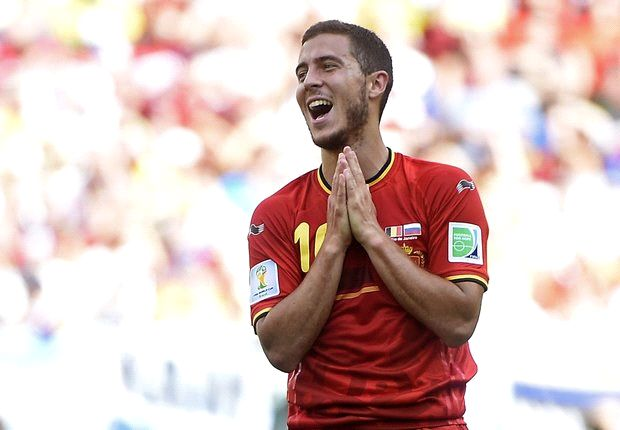 Hazard failed to impress this World Cup