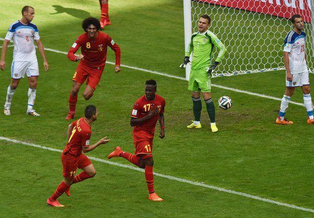 Belgium 1-0 Russia: Origi snatches victory to send Wilmots' men through