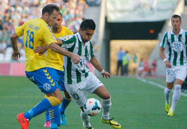 Las Palmas-Cordoba La Liga play-off ends with pitch invasion
