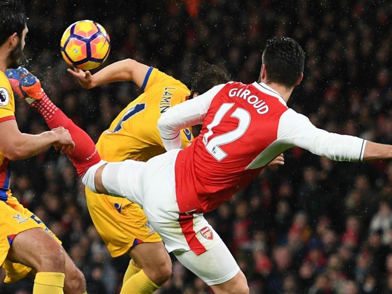 """Arsenal, Giroud : """"Mon but est plus beau que celui de Mkhitaryan"""""""