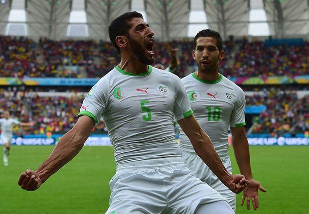 Halliche puso el segundo para el seleccionado argelino.