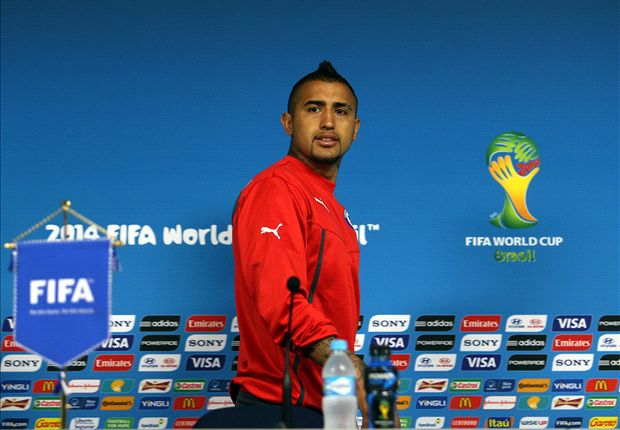 Vidal: Chile need a balanced referee against Brazil
