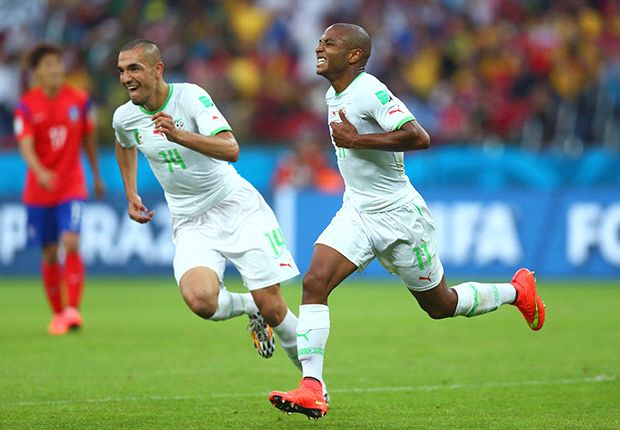 South Korea 2-4 Algeria: Fennecs on brink of last-16 after six-goal thriller