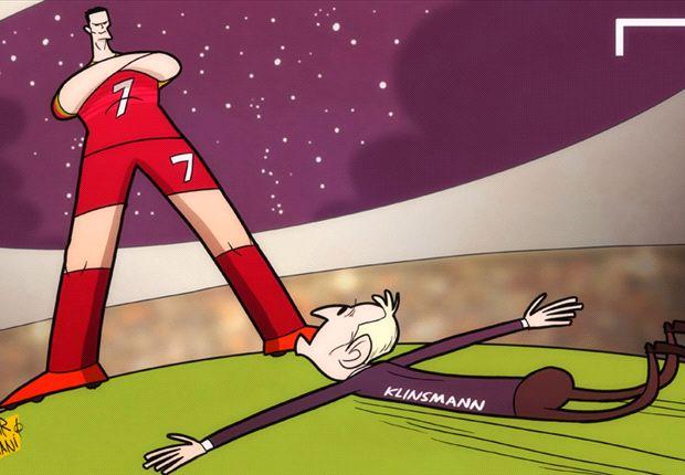 Cristiano Ronaldo frena a Estados Unidos