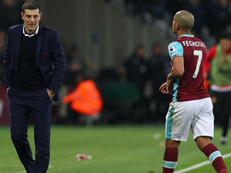 Feghouli receives fastest red card of the Premier League season