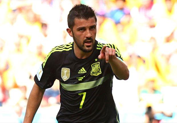 David Villa erzielte für die Spanier in toller Manier das 1:0 gegen Australien