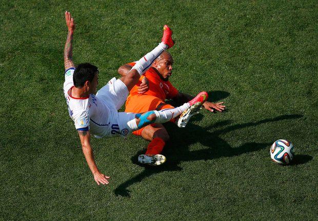 Vidal: Netherlands didn't play at all