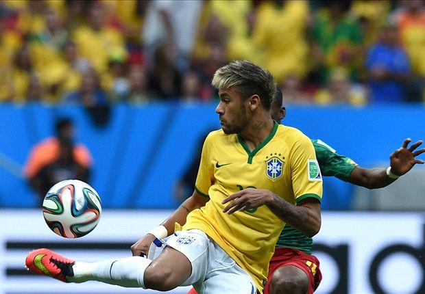 Scolari  Neymar é o ponto de referência do Brasil - Goal.com 8018bdba050d4