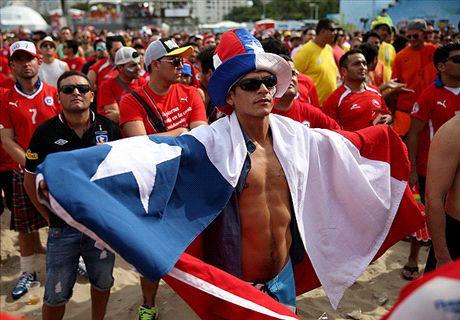 Niet alle Chilenen kritisch op Oranje