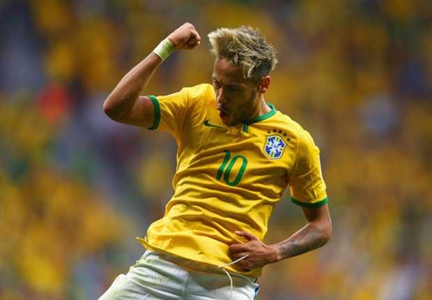 Neymar sicherte heute den Sieg für Brasilien