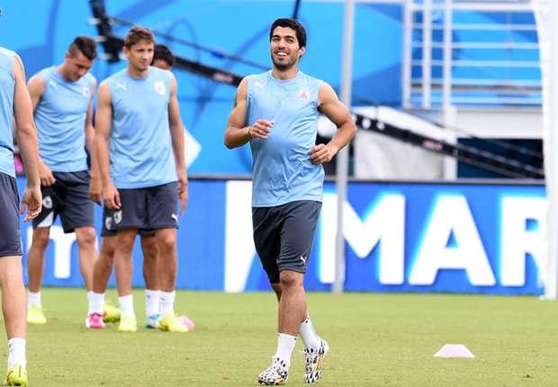 Luis Suárez ya entrenaría en solitario