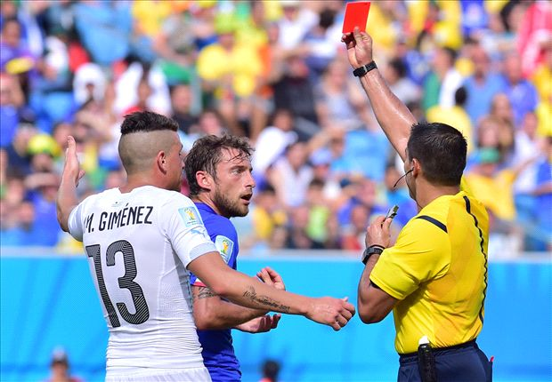'The referee ruined the game' - Prandelli blasts Marchisio red card after Italy exit