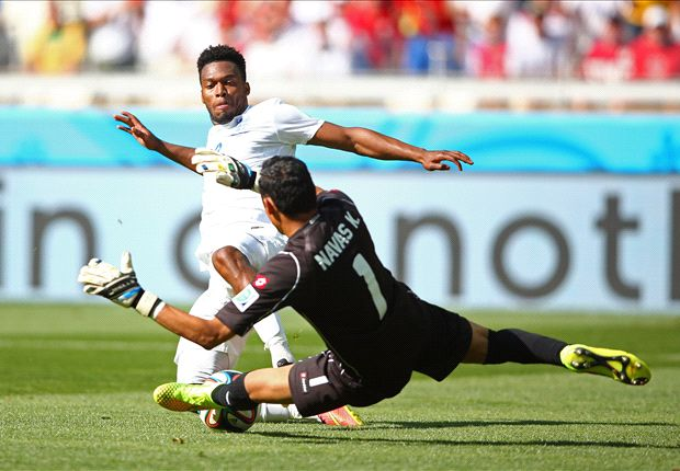 Costa Rica 0-0 England: Draw seals top spot for Ticos