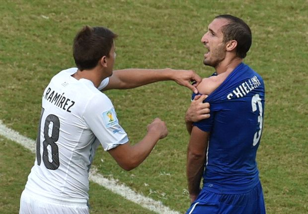 Lugano: Chiellini is a coward