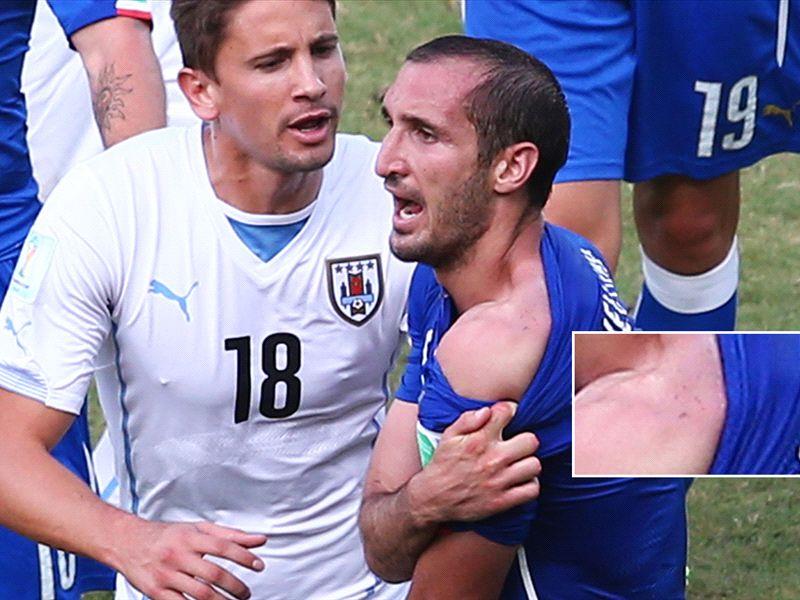 Lugano: Chiellini is a bitter coward, Suarez provoked