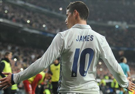 El Inter negociaría por James