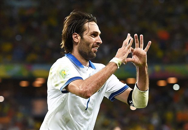 Greece 2-1 Cote d'Ivoire: Last-gasp Samaras penalty sends Santos' side through