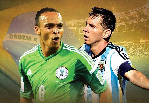 LIVE + Opstellingen: Nigeria - Argentinië