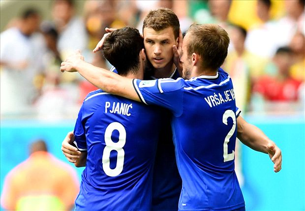 Bosnia-Herzegovina 3-1 Iran: Dzeko and Pjanic help Nigeria out
