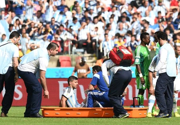Injured Aguero could miss rest of World Cup