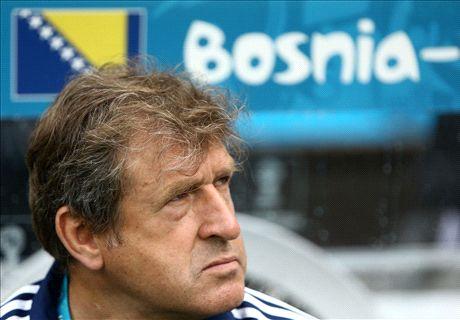Susic quits as Bosnia coach