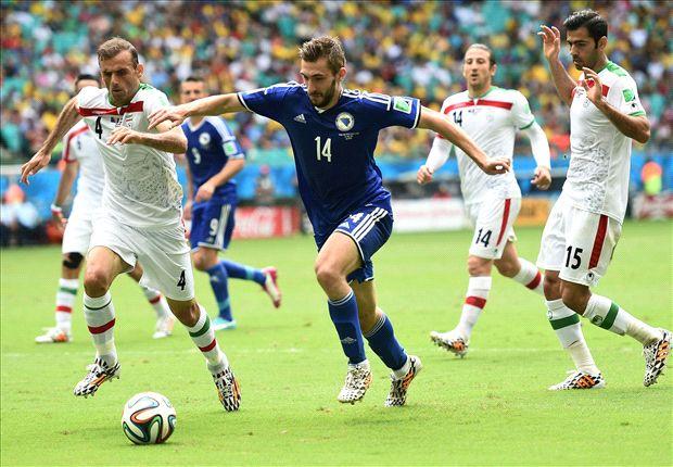 Tino Susic bereitete Bosniens 2:0 durch Pjanic vor