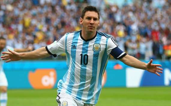 Nigeria Argentina Lionel Messi World Cup Group F 06252014