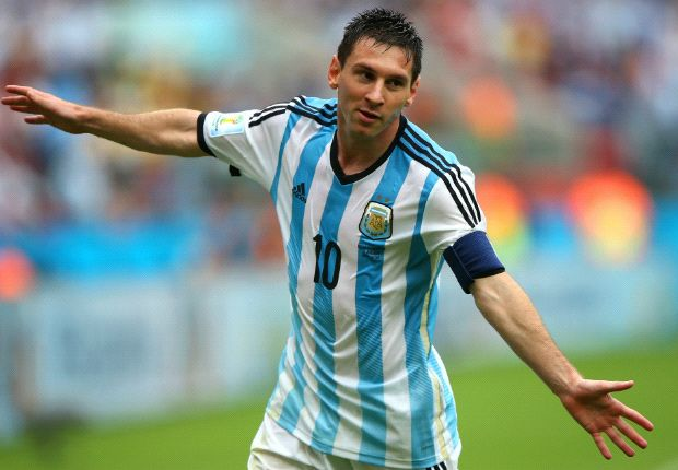 Messi is the only Argentina player getting noticed - Maradona