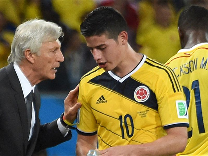 Pekerman: Brazil 2014 will be James' World Cup