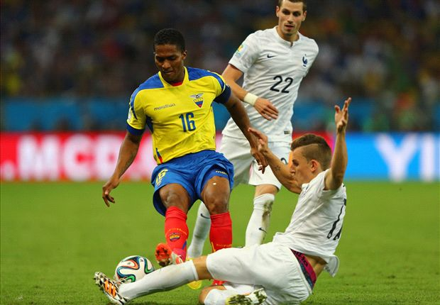 A Ecuador no le alcanzó el empate sin goles ante Francia.