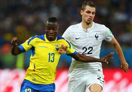 Résumé de match, Equateur-France (0-0)