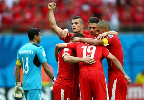 Ratings: Honduras 0-3 Switzerland